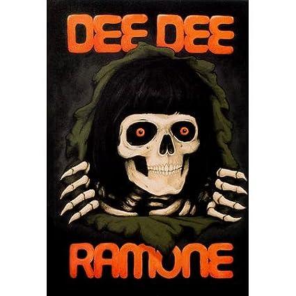 Dee dee ramone skull
