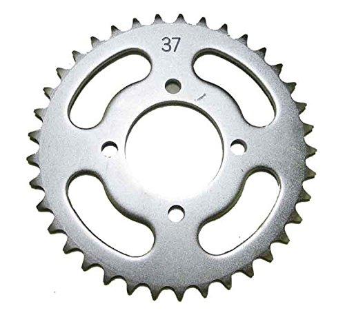 Kawasaki Steel Rear Sprocket 50 KFX 2003-2006 / 110 KLX 2002-2016 / 110 KLX-L 2010-2016 37 Teeth ATV / Motorcycle WSM RSS-001-37 OEM# 64511-01800, 64511-43F00, 64511-01739