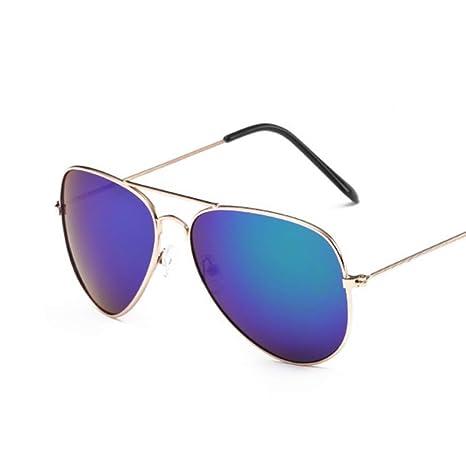 Yangjing-hl Gafas de Sol de aviación Moda para Mujer Gafas ...