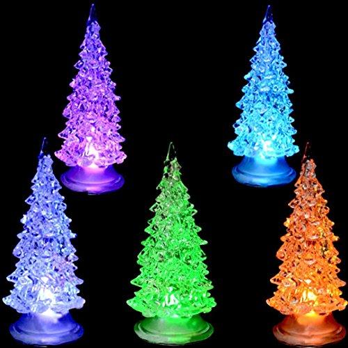 1pc Colorful Fiber Optic Tree Christmas LED Home Party Xmas Decoration Christmas gift