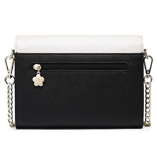Ladies chain hollowed out mini GMYAN female bag fashion bag tide slanting casual bag black Dark shoulder single dtwqPq