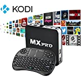 Android TV Box  Kodi Fully Loaded Tonbux Quad Core Android 4.4 Streaming Media Player with I8 Wireless Touchpad Keyboard