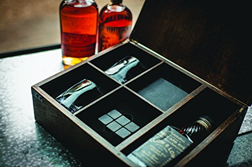 LEGACY - a Picnic Time Brand Whiskey Box Gift Set with Service for Two by LEGACY - a Picnic Time Brand (Image #1)