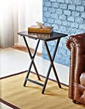 PJ WOOD TV Tray Table in Dark Mango