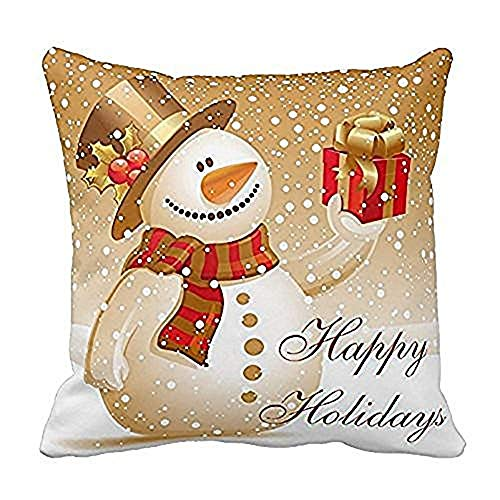 GOVOW Top for Kids 2018 Pillow Cases Cotton Linen Sofa Cushion Cover Home Decor