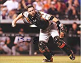 Buster Posey San Francisco Giants Autographed Signed 8 x 10 Photo --C.O.A. - (Mint Condition)