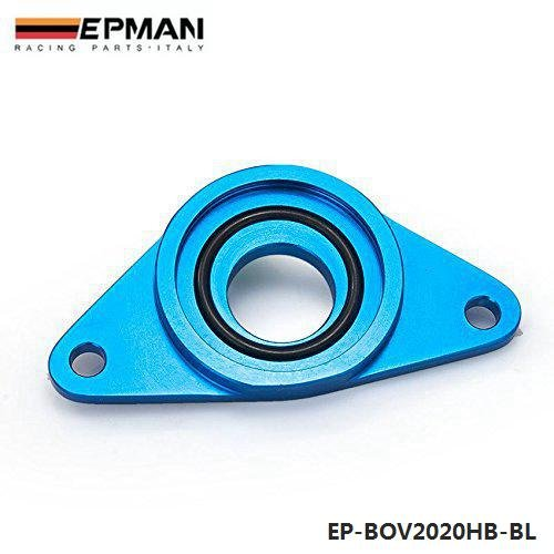 EPMAN Top Mount SSQV SQV BOV Flange Adapter Blow Off Valve For Subaru Impreza WRX STI 02-07 (Blue) RUIAN EP INTERNATIONAL TRADE CO. LTD