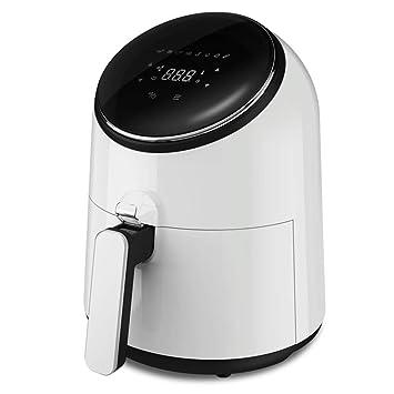 Eléctrico Freidora de Aire con Pantalla táctil Completa y Mango Anti-Caliente Cocina sin Aceite Apagado automático Inteligente y Función de Memoria para ...