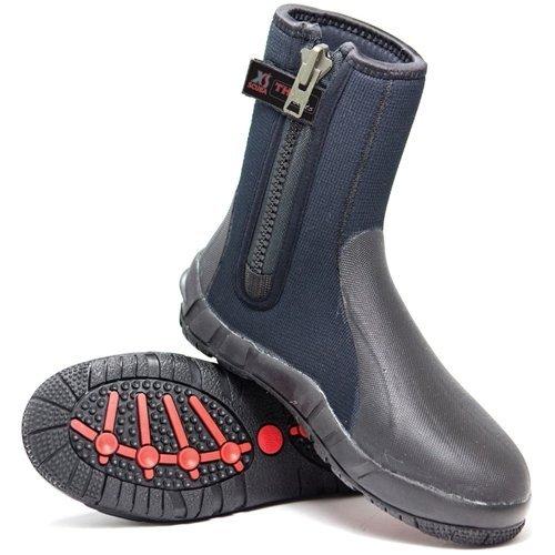 XS Scuba Thug 8mm Zippered Boots - 8 ()