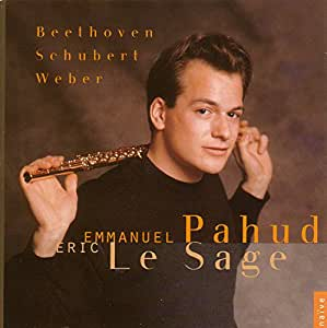 Beethoven Schubert Weber- Flute Music