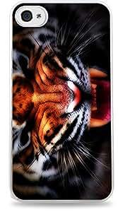 Tiger Minimal White Hardshell Case for iPhone 6 Plus (5.5 inch) i6+