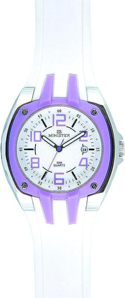 Minister Deportiva-8704 Reloj Unisex de pulsera Deportiva-: Amazon.es: Relojes