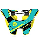 Atlas Prodigy Brace Youth Kid Neck Brace Bolt Yellow Motocorss MX Protection