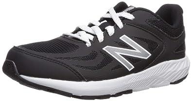 01019a8a08b2 New Balance Boys  YK519PB Running Shoe Black 1M