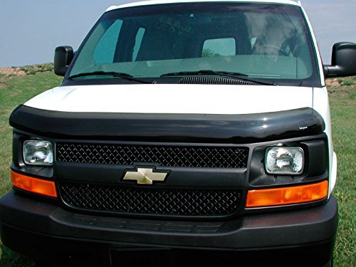 (Stampede 3031-2 Vigilante Premium Hood Protector for Chevrolet/GMC (Smoke))