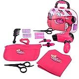 AMOFINY Toys House Makeup Hair Dryer Toy Set Makeup Tool Kit Sets...