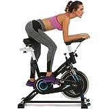 ANCHEER Belt Drive Indoor Cycling Bike, 49 LBS Flywheel Spin Bike