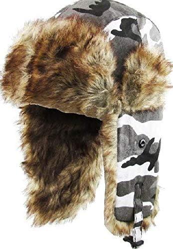 Pompom Hat Trapper Hat Aviator Trapper Hat with Fur Pom Poms CHOOSE COLOR Oatmeal Beige SALE Ski Women Hat Christmas Gift under 100