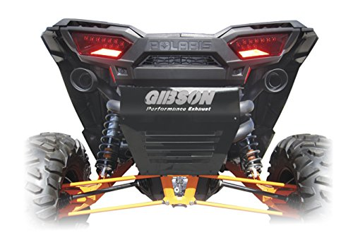 (Gibson 98022 Black Ceramic Dual Exhaust System)