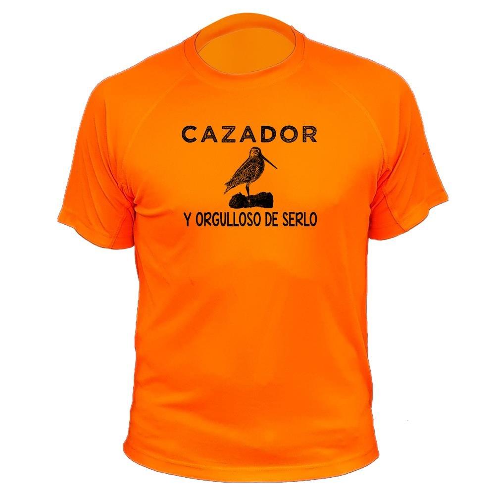 Camiseta de caza Cazador y orgulloso de serlo - Ideas regalos - Becada AtooDog