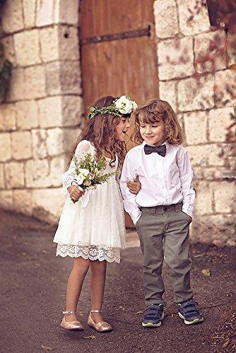 Amazon boho chic girls dress first communion dressflower girl boho chic girls dress first communion dressflower girl off white lace mightylinksfo