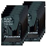 #10: ULAKY 10pcs Purifying Blackhead Acne Remover Peel Mud Deep Cleaning Anti Aging Facial Mask