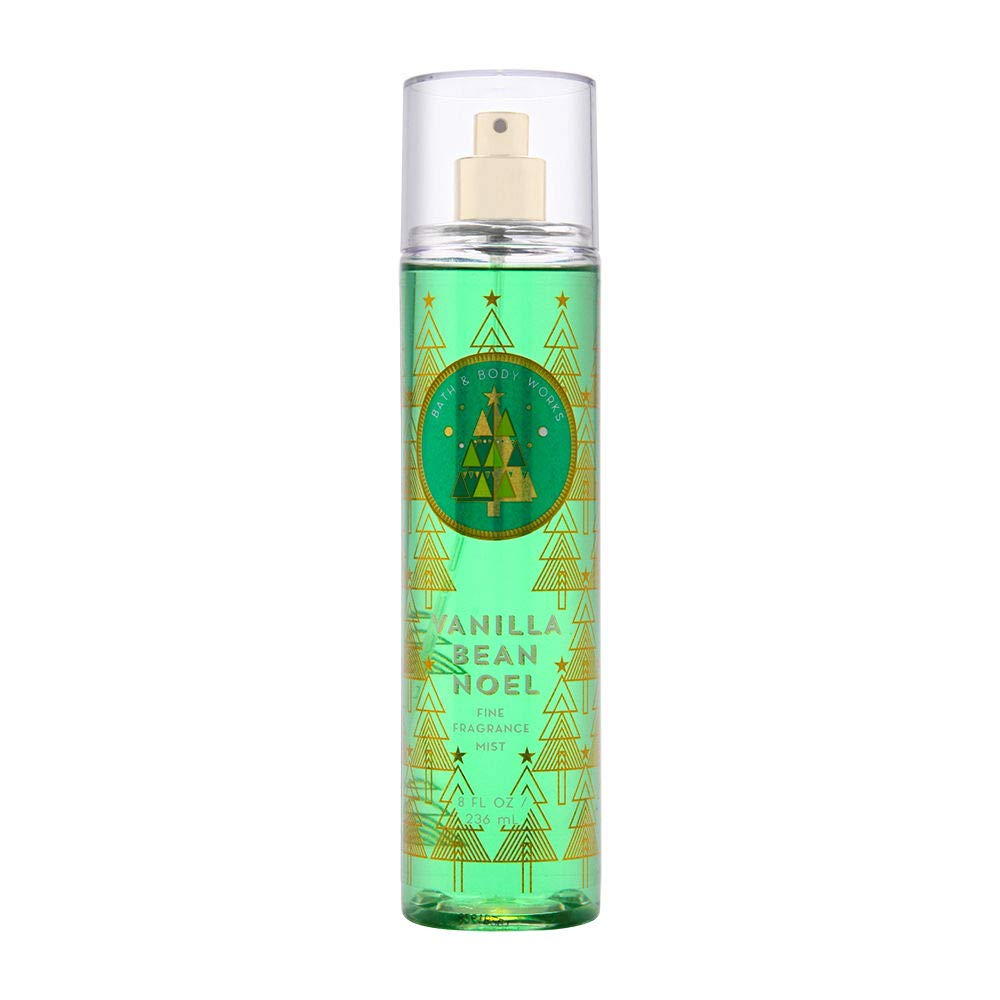 Bath & Body Works Vanilla Bean Noel Fine Fragrance Mist, 8 Ounce