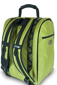 Glo Bag: Ladies Gym Locker Organizer Bag in Lime Green