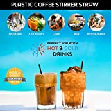 Coffee Stirrers Sticks, Disposable Plastic Drink