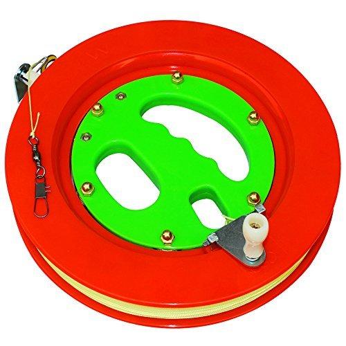 Hengda Kite Professional Color Kite Ballbearing Reel Line Winder Grip Wheel + 150M Tire Line With ()