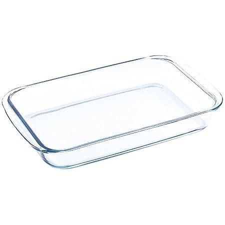 Blaumann - Fuente para horno y microondas (rectangular, cristal, 1 ...