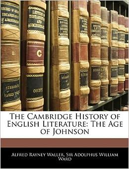 Book The Cambridge History of English Literature: The Age of Johnson