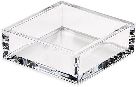 YoungerY Servilletero de acr/ílico Transparente Dispensador de servilletas de Papel Caja de Bastidor de Tejidos Decorativos para el hogar Bar Hotel Mesa de Comedor Mostrador de la Cocina