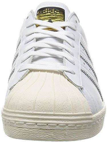 ftwr cream DLX y Superstar 80s ftwr white dorado Blanco Adidas white white Deluxe qtwI88