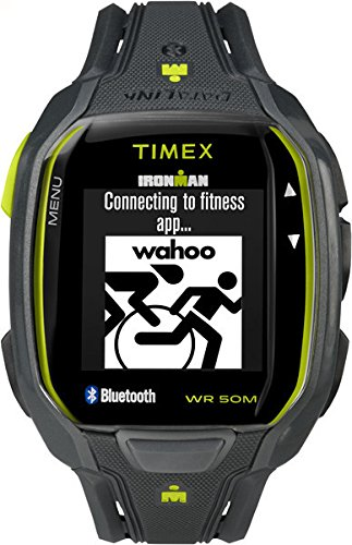 Timex Ironman Run x50+ | Charcoal-Lime | Sports Watch TW5K84500 ()