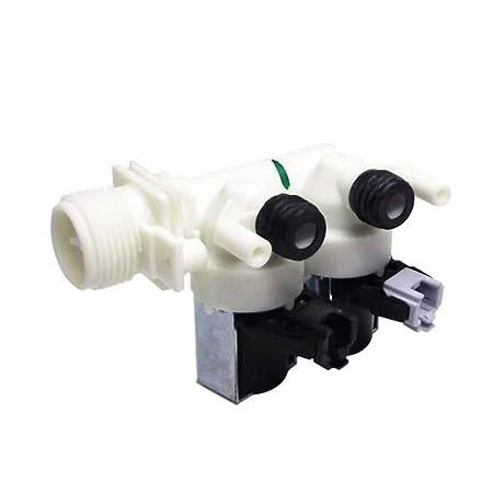 Electroválvula doble carga agua lavadora Ariston Indesit 110333 ...