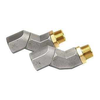 1 PCS 3//4 Fuel Transfer Hose Swivel 360 Rotating Connector for Fuel Nozzle Multi Plane Fuel Plane Swivel