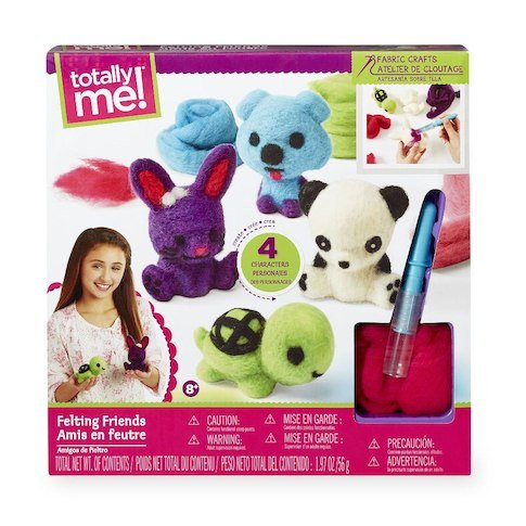 Rare Vintage Fabric - Totally Me! Felting Friends Fabric Craft Kit