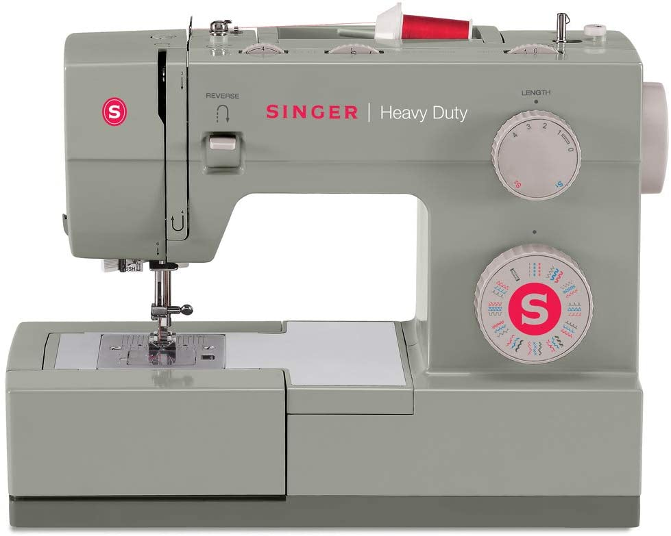 Fast Sewing Machine: Singer heavy-duty 4452 Mechanical Sewing Machine With Accessories