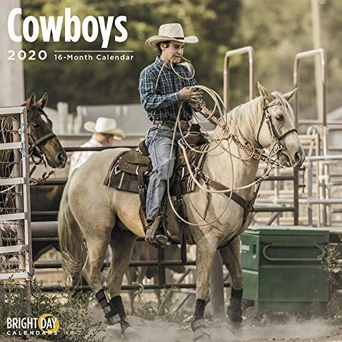 2020 Cowboys Calendar 12 x 12 Wall Calendar by Bright Day Calendars (Hunting And Fishing Best Times Calendar)