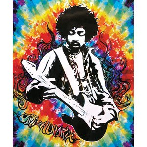 Jimi hendrix blanket playing guitar logo - Jimi hendrix wallpaper psychedelic ...
