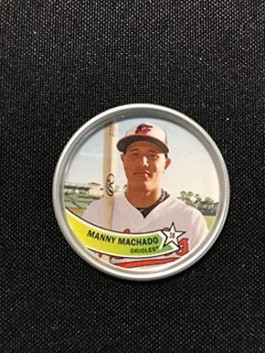 2018 Topps Archives Baseball 1980s Coins #C-9 Manny Machado Baltimore Orioles