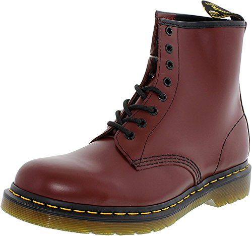 Basse – Milled Cherry Smooth Brogue Unisex Stringate Dr 1460 Adulto Martens Red Scarpe wgzZHxYS