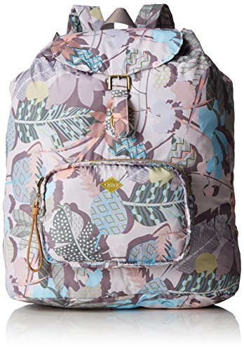Oilily Oilily Folding Classic Backpack, Mochila Mujer Multicolor (Oyster White)