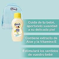 Nenuco Pack Bebé Mochila de Paseo color azul, contiene colonia ...