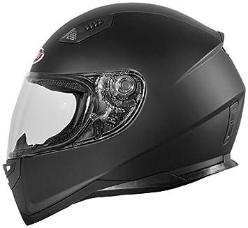 Shiro casco, Solid Negro, tamaño XXL