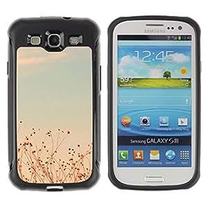 Suave TPU GEL Carcasa Funda Silicona Blando Estuche Caso de protección (para) Samsung Galaxy S3 III I9300 / CECELL Phone case / / Summer Sunset Teal Fields Sky Warm /