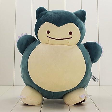 Amazon.com: 12.6 inch diseño especial Ditto Snorlax felpa ...