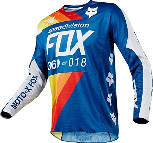 Fox Racing 360 Draftr Blue Jersey/ Pant Combo - Size MEDIUM/ 32W