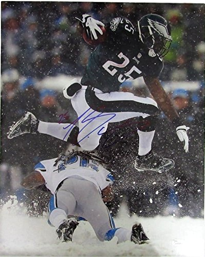 Lesean McCoy Philadelphia Eagles Autographed//Signed 16x20 Photo JSA 130423